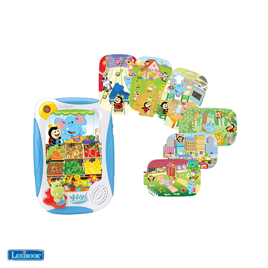 Yayé® My first educational tablet (ES/GB)_product
