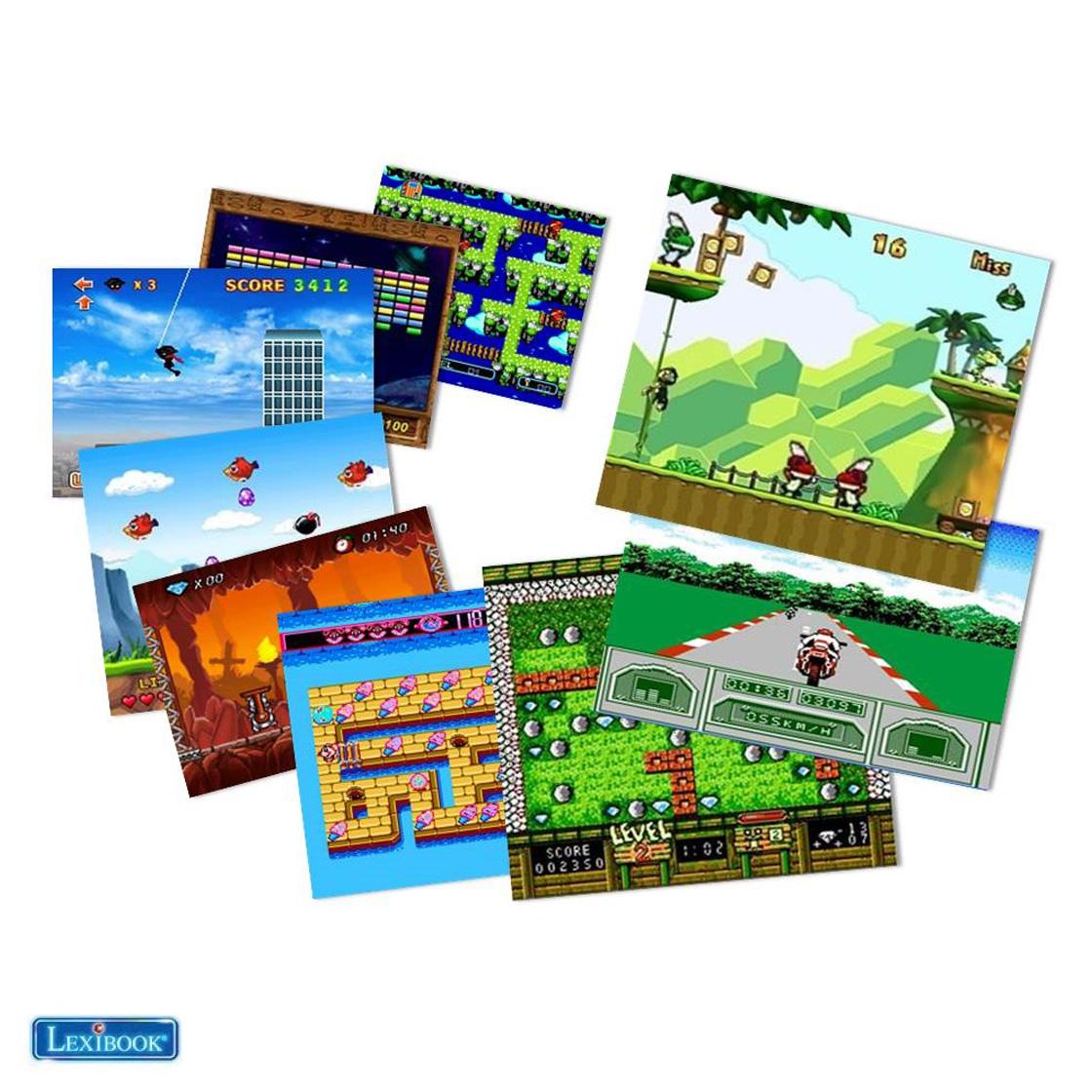 Lexibook JG7800 300-in-1 Retro TV Console Game by LEXIBOOK ...