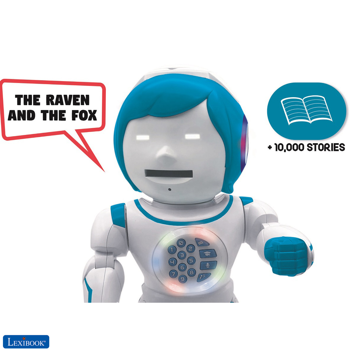 Robots : Powerman Kid - Bilingual English Spanish Remote ...